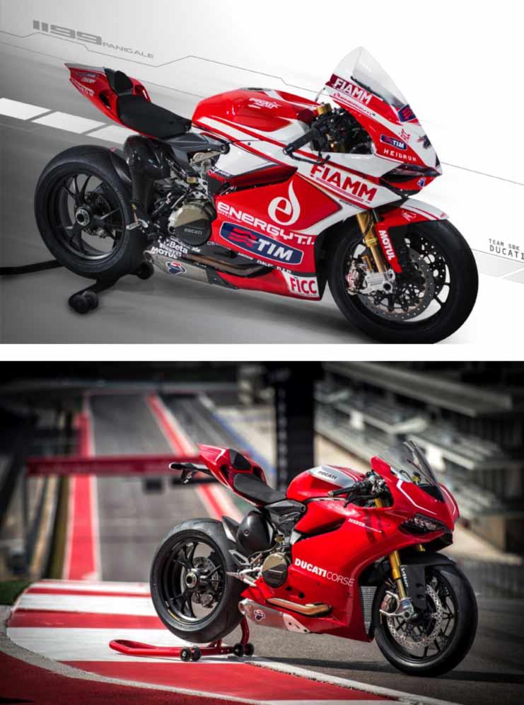 Ducati 1199 Panigale Superbike