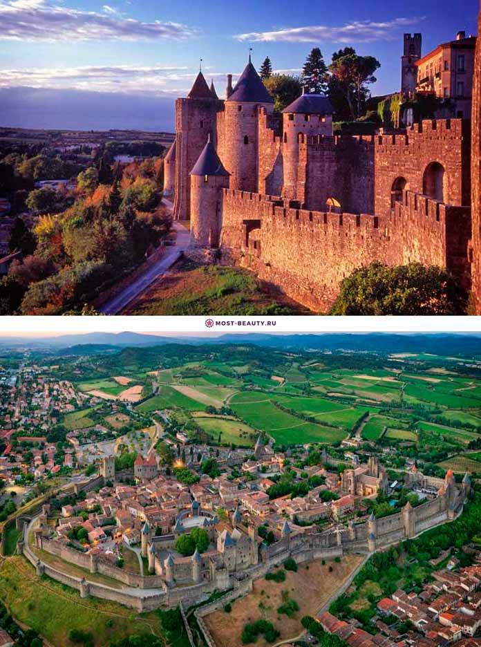Каркассон. Самые красивые города крепости в мире (+ ФОТО)