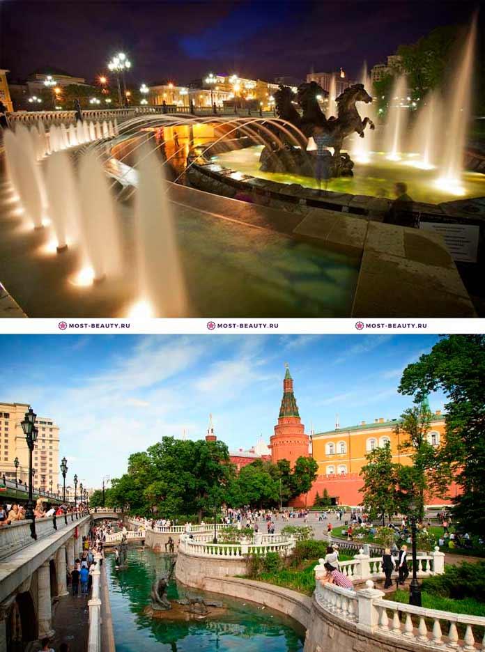 Александровский сад. Самые красивые места Москвы