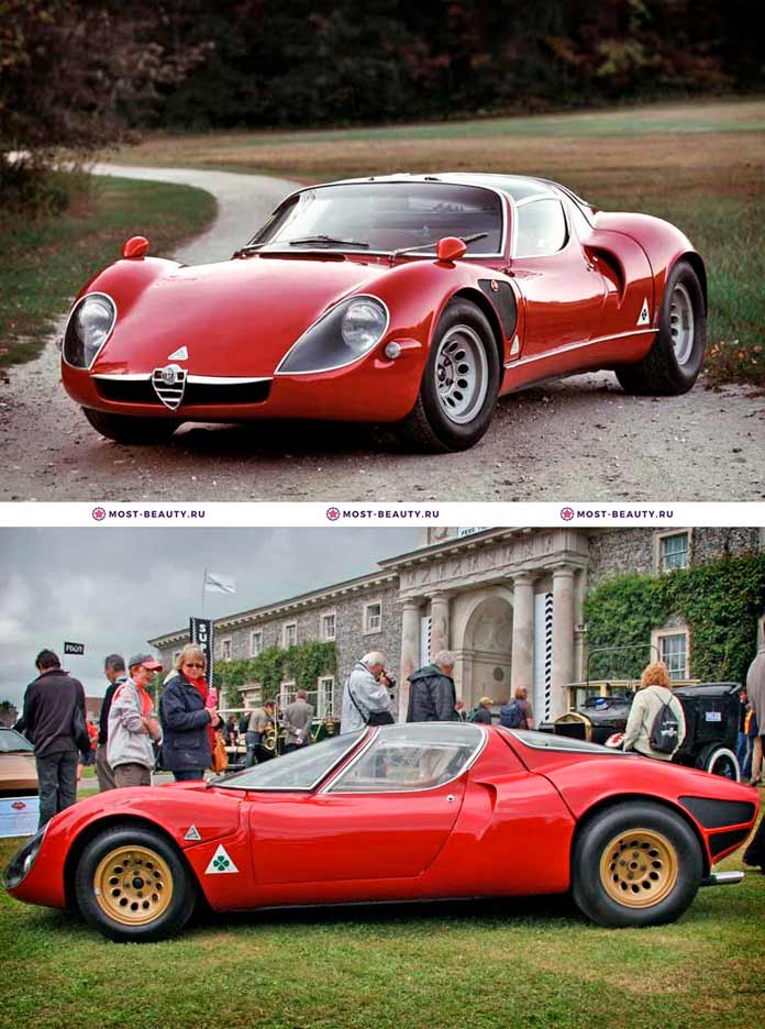Самые красивые машины: Alfa Romeo Tipo