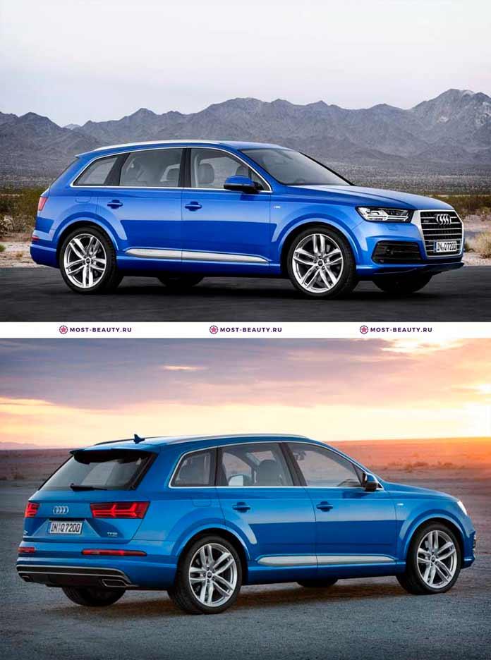 Самые красивые машины: Audi Q7. 2015