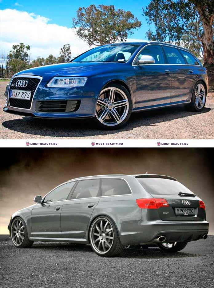 Самые красивые автомобили: Audi RS6 Avant 2010