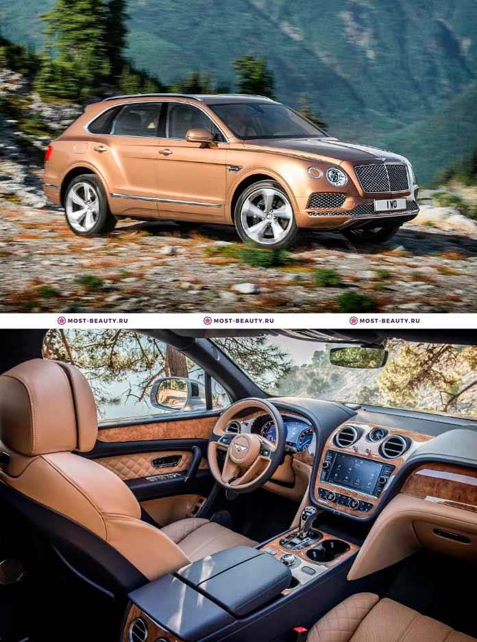 Самые красивые машины: Bentley Bentayga