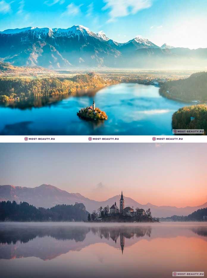 Самые красивые места Европы: Озеро Блед, Словения (CC0)