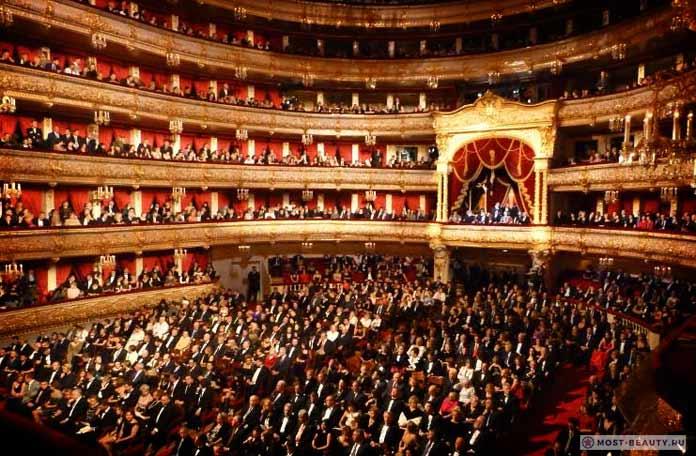 Самые красивые места Москвы: Большой театр