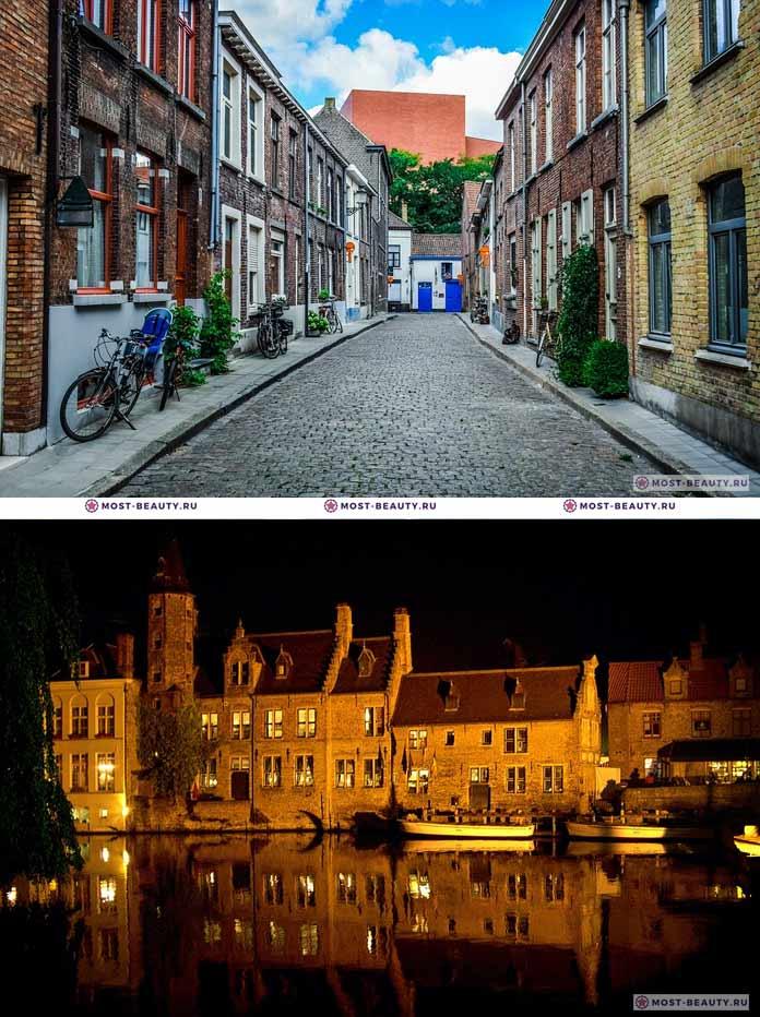 Самые красивые города мира: Брюгге (CC0)