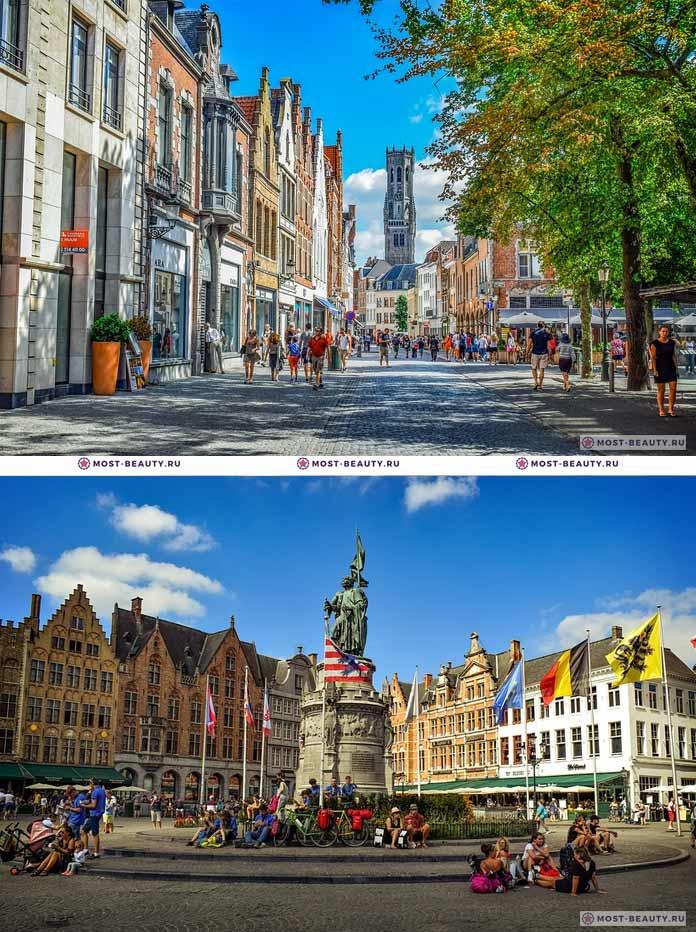Самые красивые города мира: Брюгге (СС0)