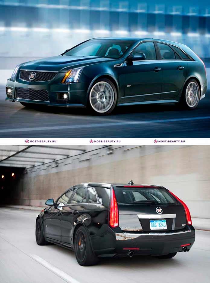 Самые красивые машины: Cadillac CTS-V Wagon. 2011