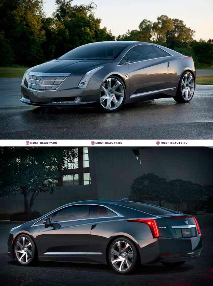 Самые красивые машины: Cadillac ELR 2013
