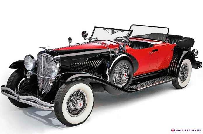 Самые красивые машины: Duesenberg Model J Long Wheelbase Coupe
