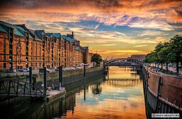 Самые красивые города мира: Гамбург (CC0)