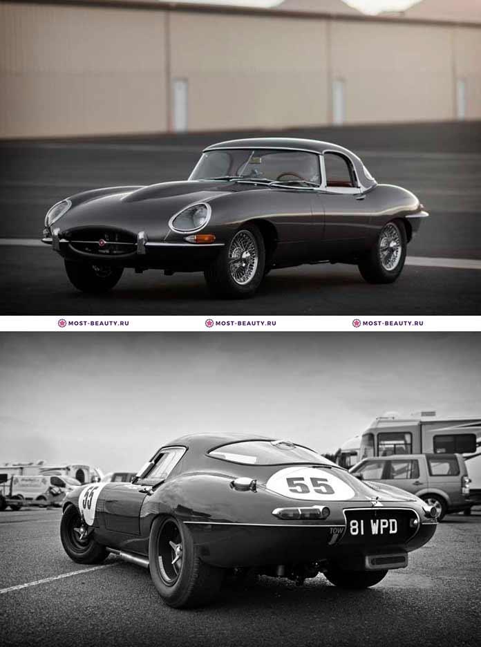 Самые красивые машины: Jaguar E-Type