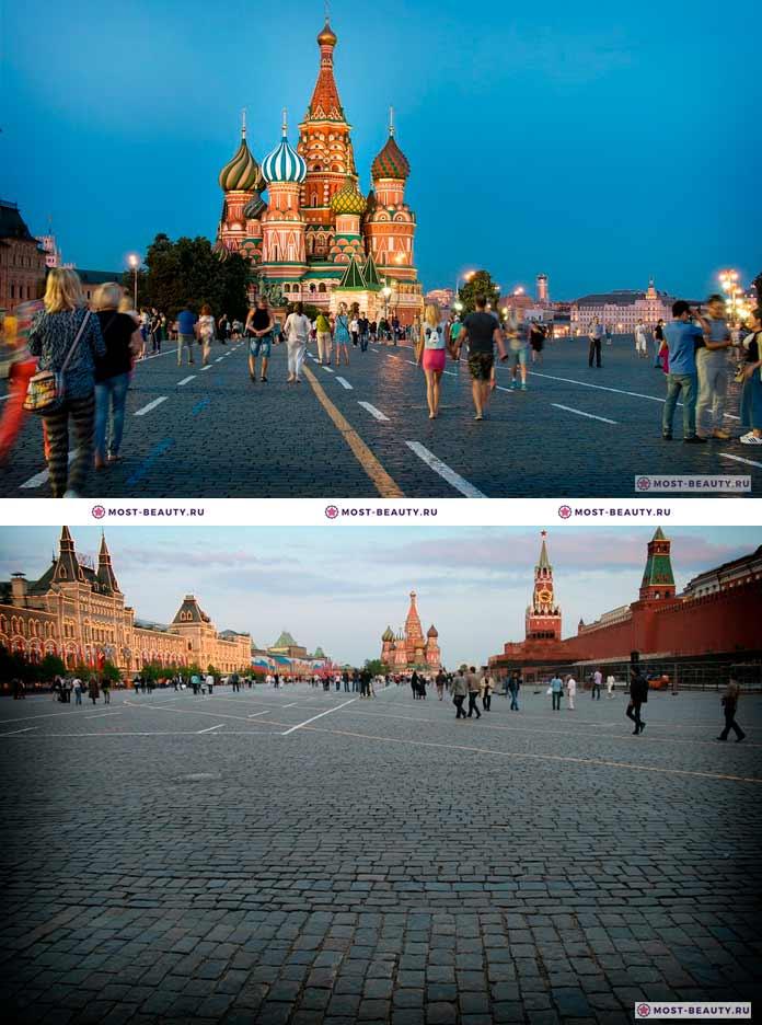 Красная площадь. Самые красивые места Москвы. CC0