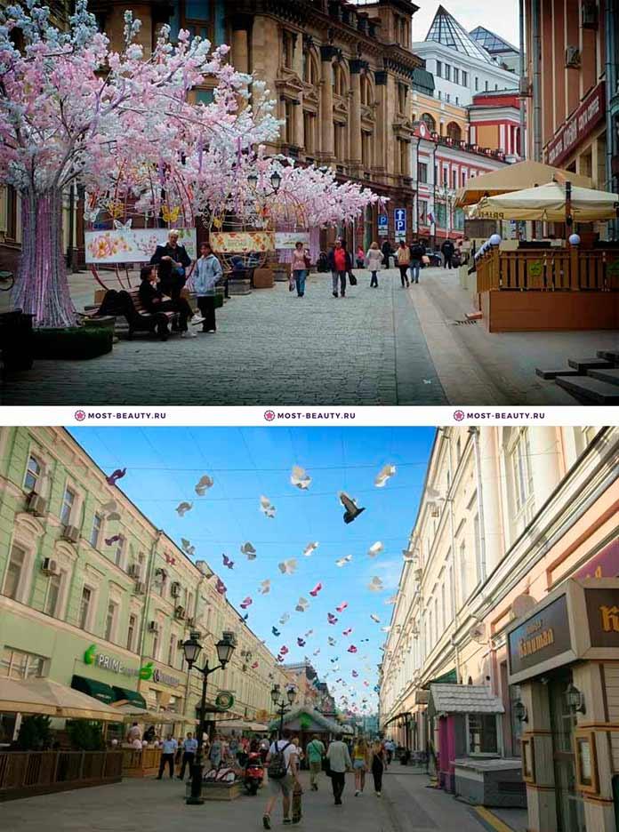 Самые красивые места Москвы: Кузнецкий мост