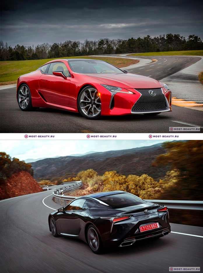 Самые красивые автомобили: Lexus LC 500
