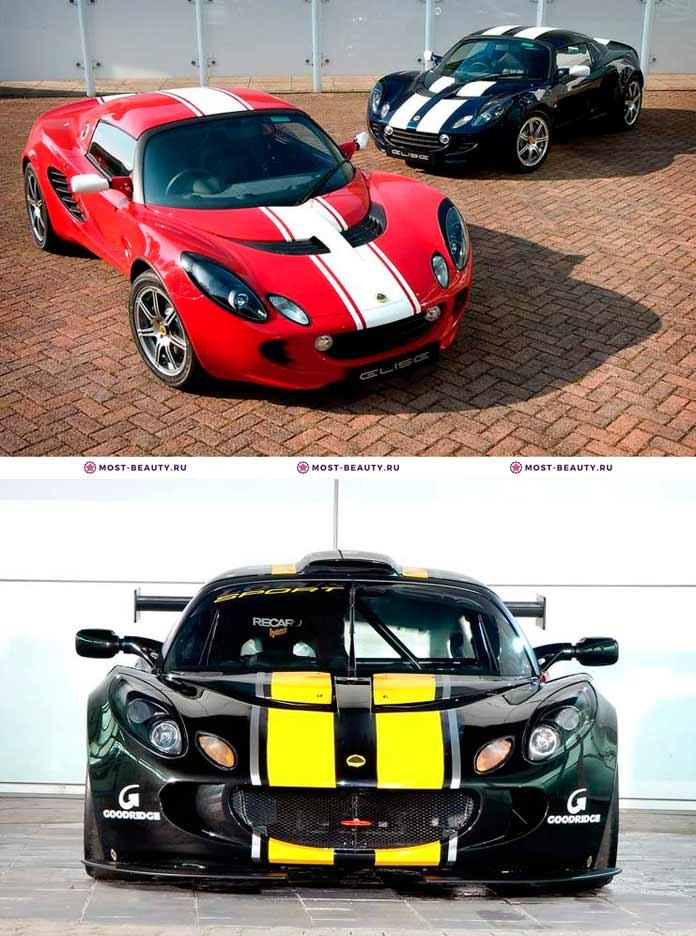 Самые красивые машины: Lotus Elise Sport 2006