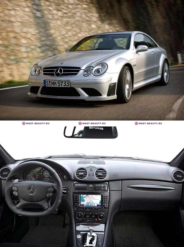 Mercedes-Benz CLK63 AMG Black Series 2008