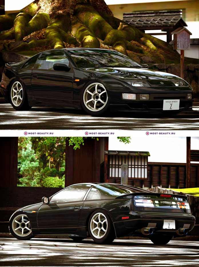 Самые красивые машины: Nissan Fairlady Z Z32