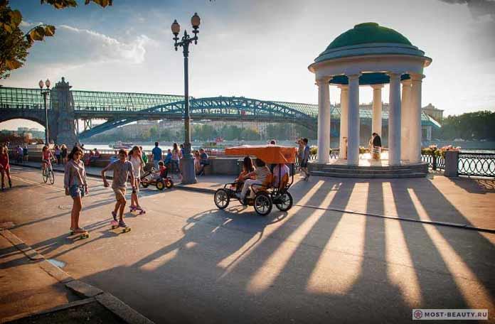 Самые красивые места Москвы: Парк Горького