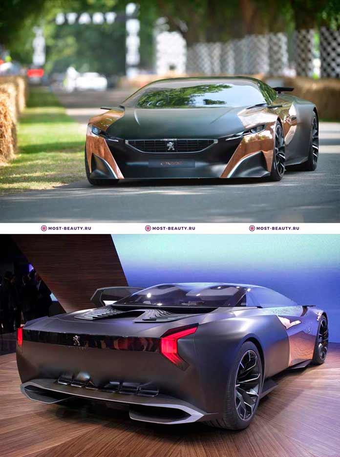 Самые красивые машины: Peugeot Onyx