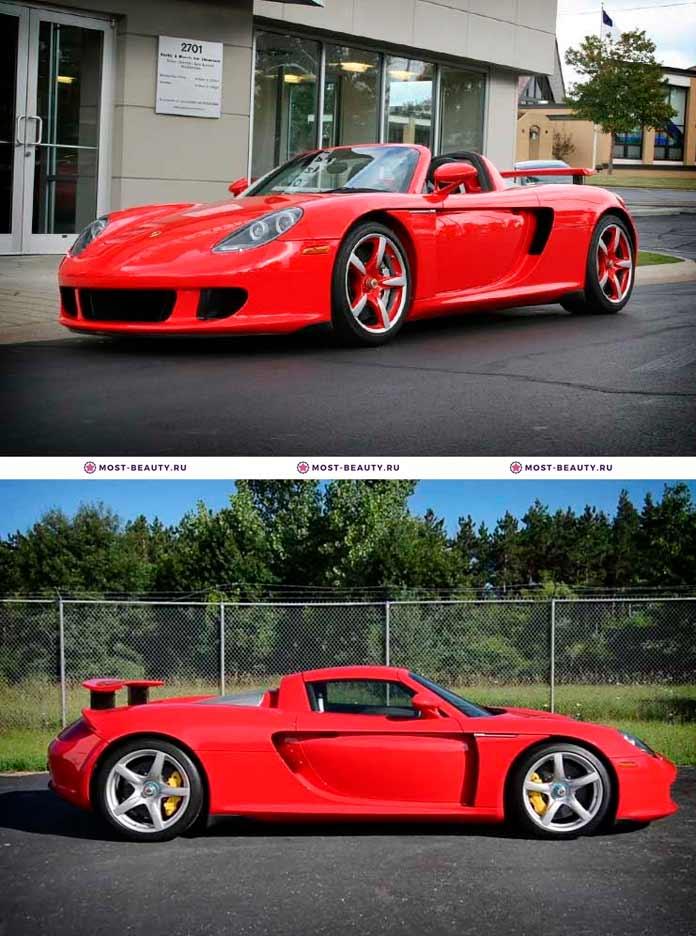 Porsche Carrera GT 2005. Самые красивые машины в мире