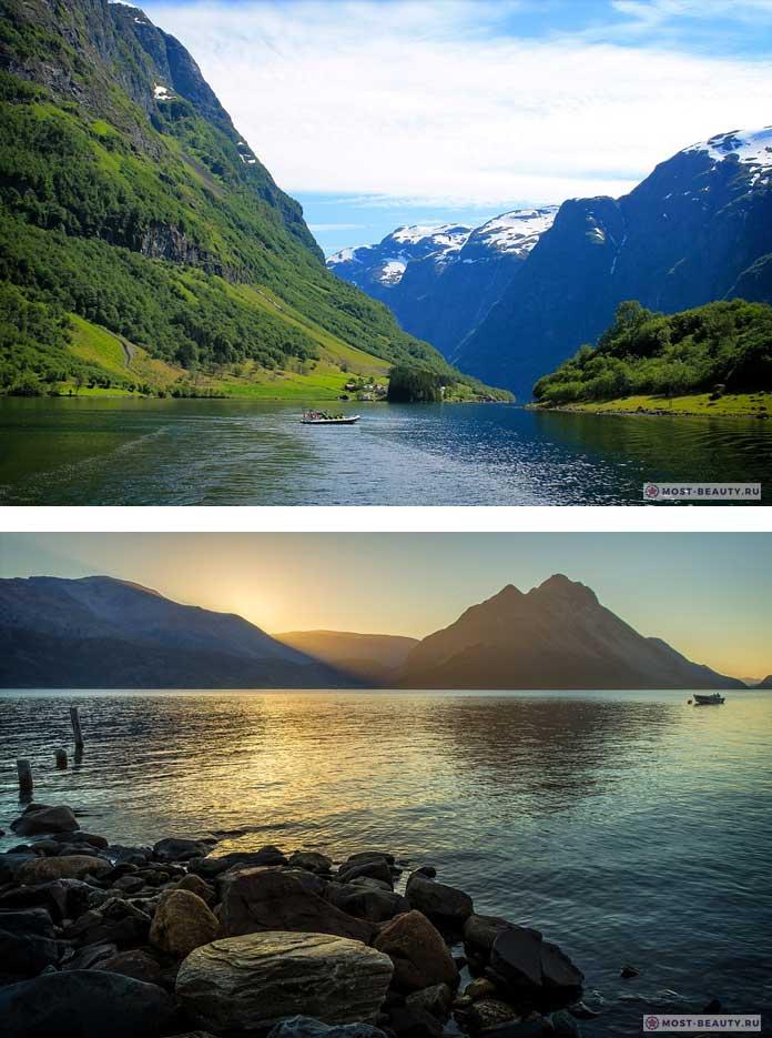 Природа Норвегии. Самые красивые страны в мире