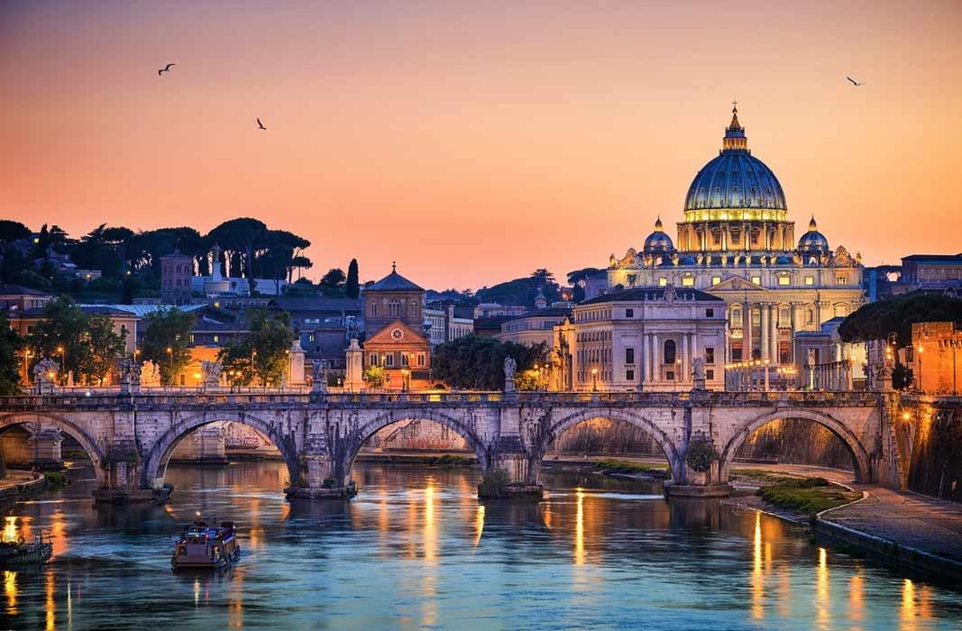 Самые красивые города мира: Рим