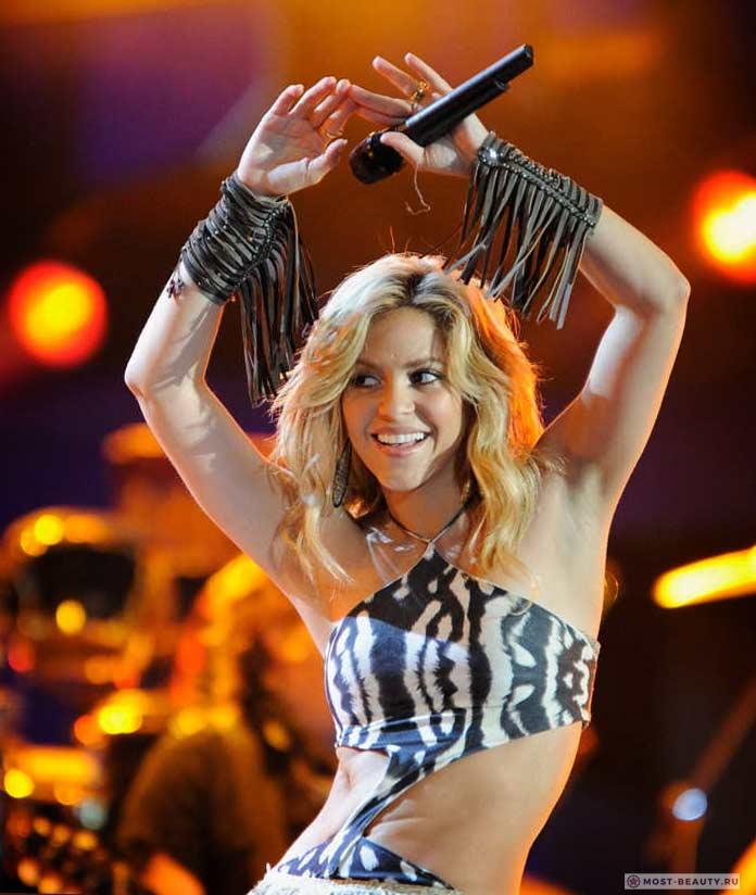 Шакира. Самые красивые танцовщицы в мире