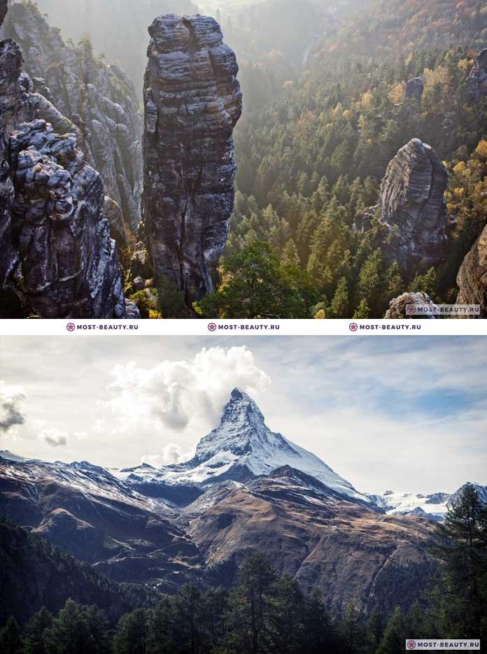 Швейцария. Самые красивые страны в мире