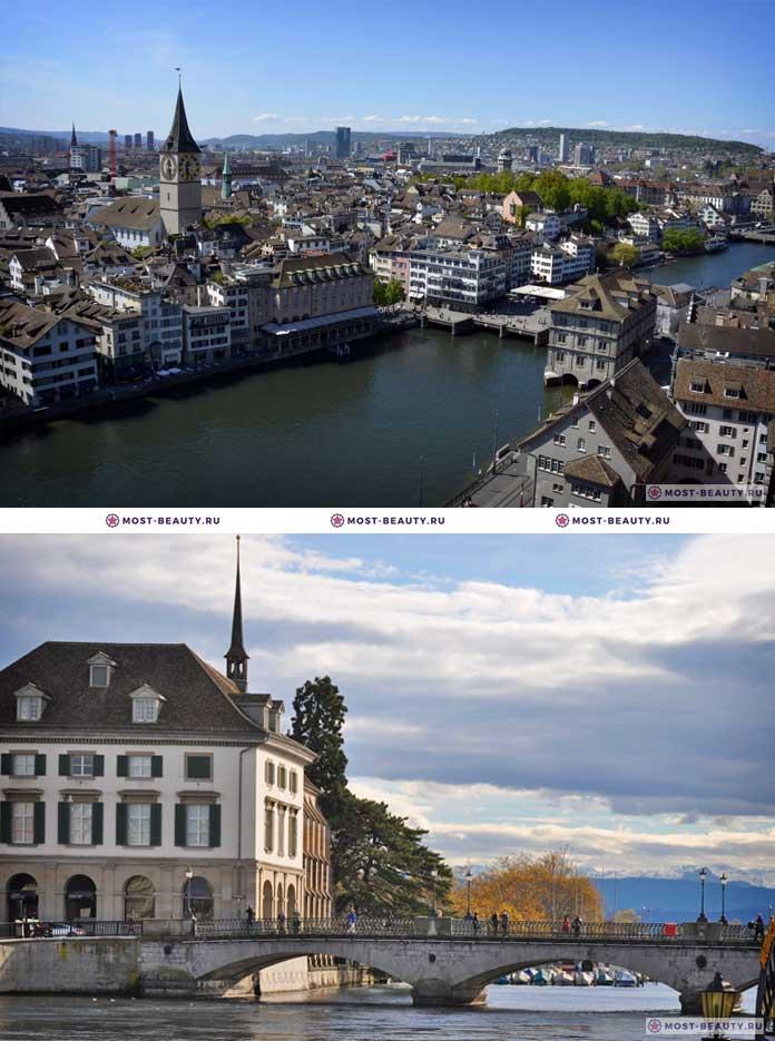 Самые красивые страны: Цюрих (CC0)