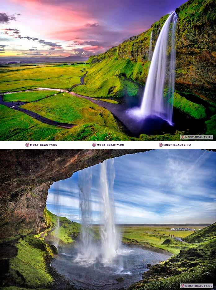 Водопад Сельяландсфосс (CC0)