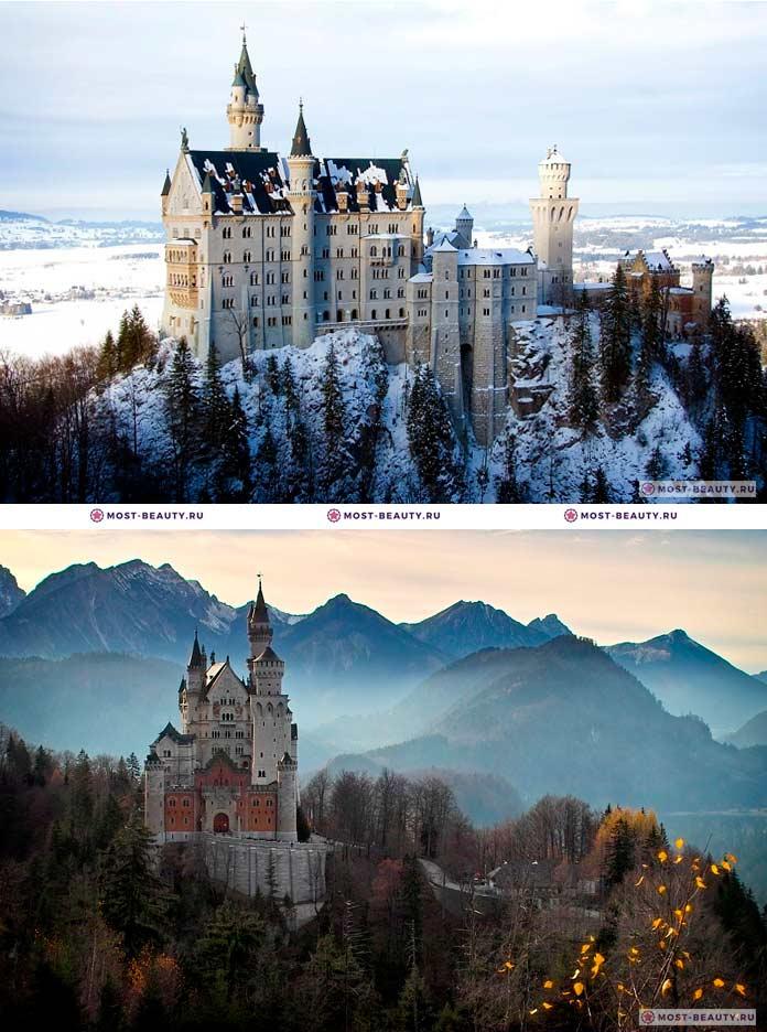 Замок Нойшванштайн. Самые красивые места Европы (CC0)