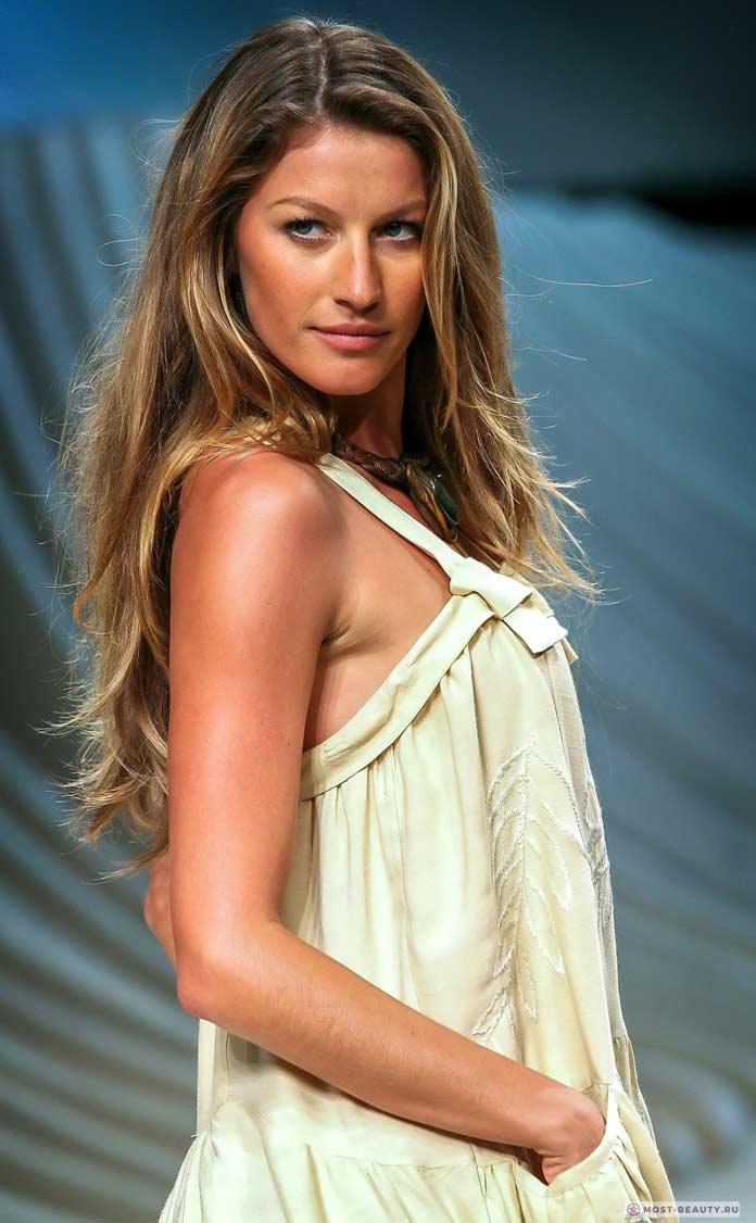Самые красивые бразильянки: Gisele Bündchen