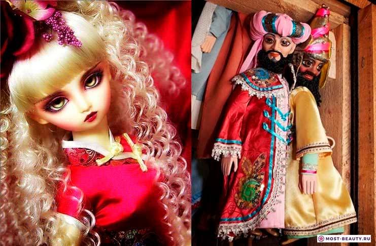 Красивые куклы марионетки