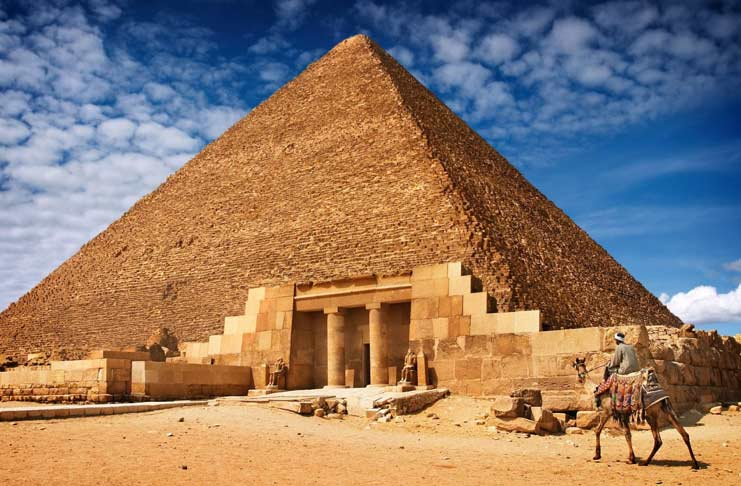 an overview of the history of the great pyramids in giza egypt Five interesting facts people like about the pyramids of giza information about the great their history mysteries and facts on pyramids in egypt.