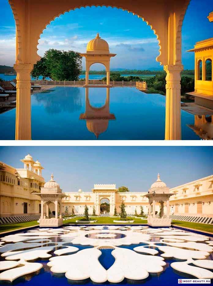 Самые красивые отели мира: Oberoi Udaivilas