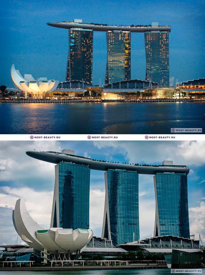 Самые красивые отели мира: Marina Bay Sands, Five Star Hotel In Singapore (CC0)