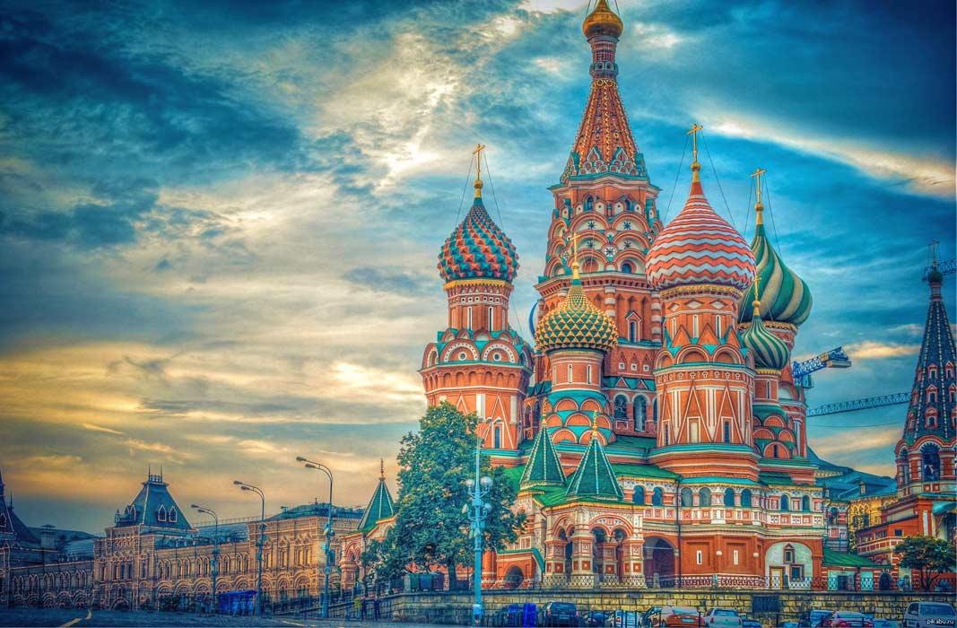 Самые красивые церкви: Собор Василия Блаженного