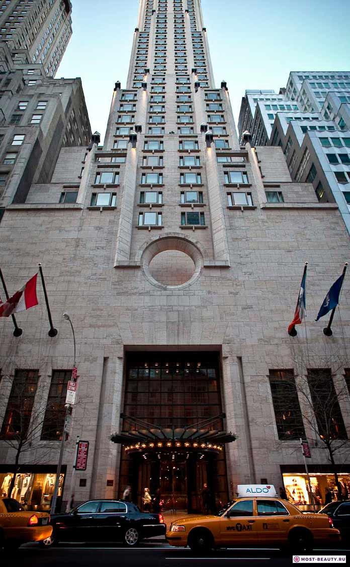Самые красивые отели мира: Four Seasons new york