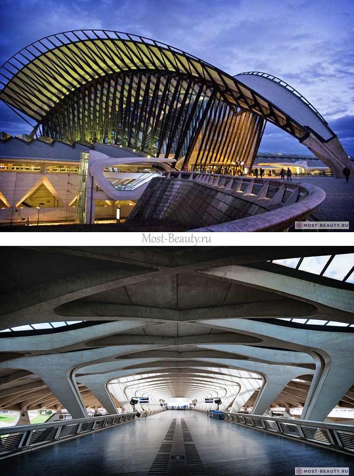 Самые красивые аэропорты в мире: Сент-Экзюпери