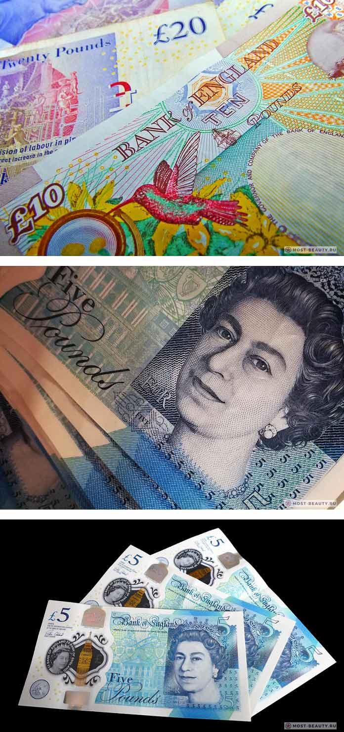 Самые красивые банкноты в мире: Английский фунт. CC0