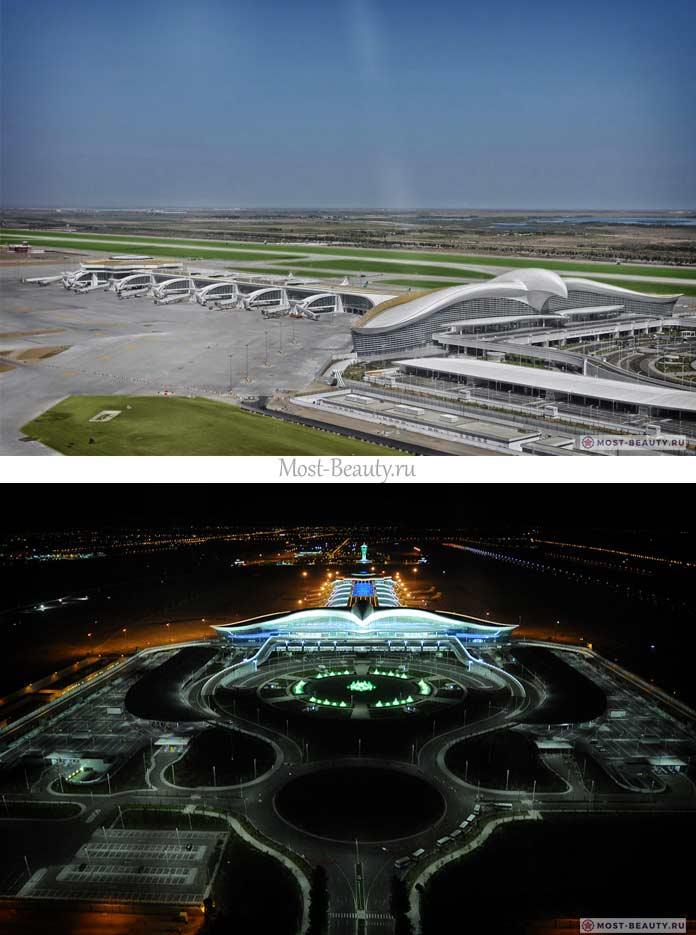Самые красивые аэропорты в мире: Аэропорт Ашхабада