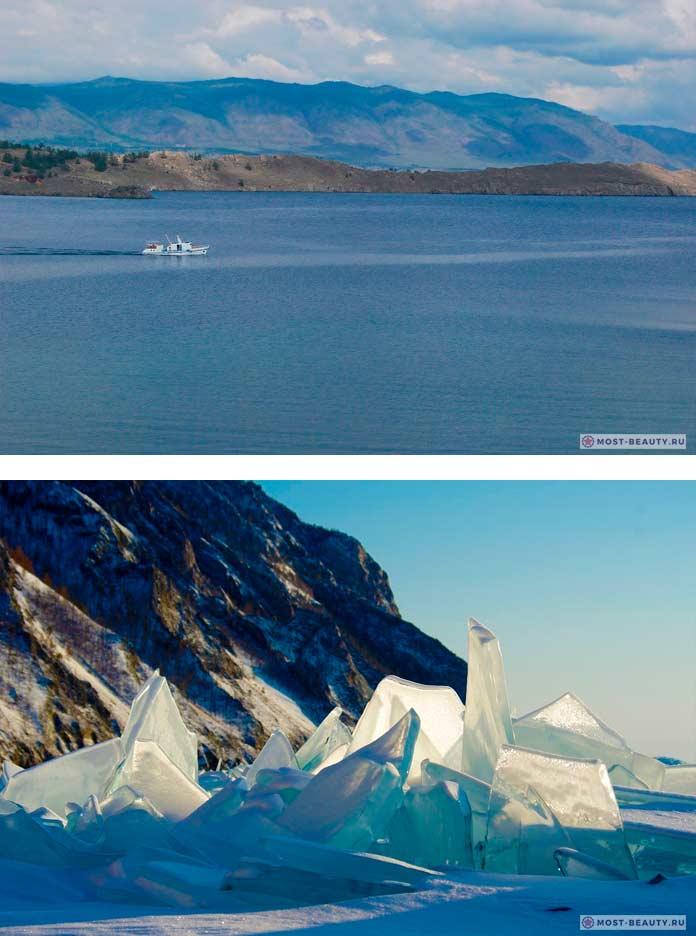 Красивые места России: Байкал. CC0