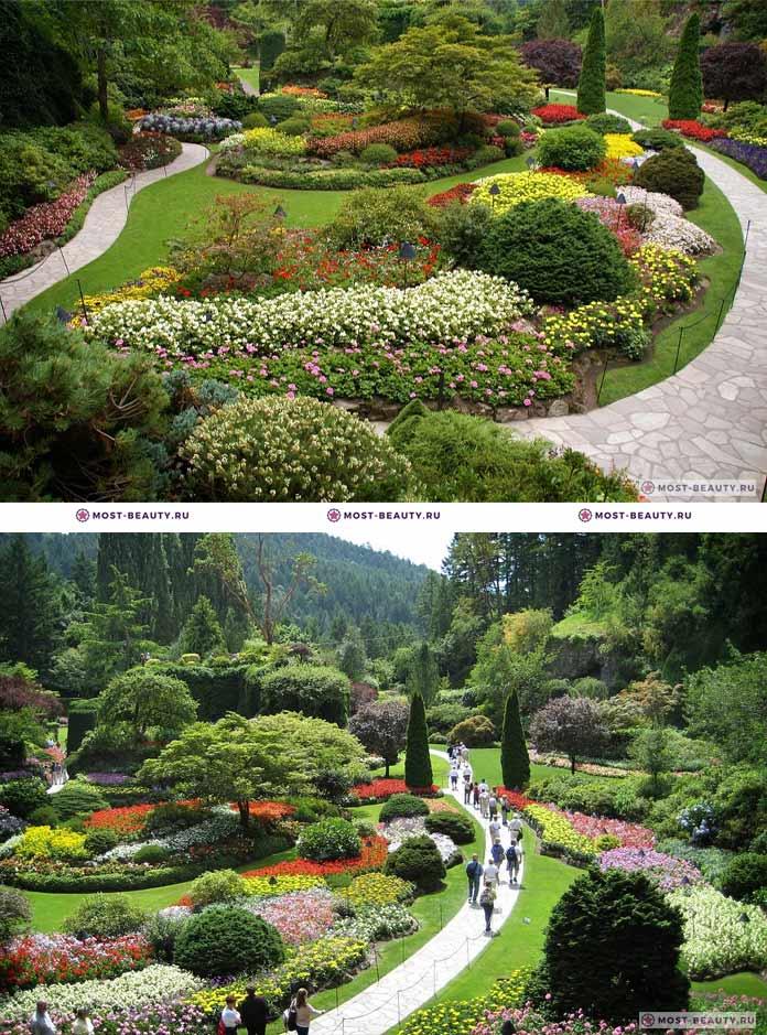 Самые красивые парки мира: Сады Бутчартов. CC0
