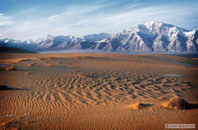 Красивые места России: Чарские пески