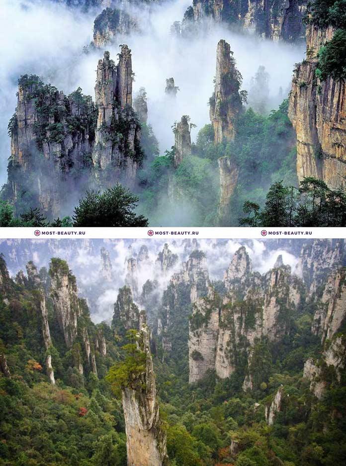 Самые красивые парки мира: Чжанцзяцзе