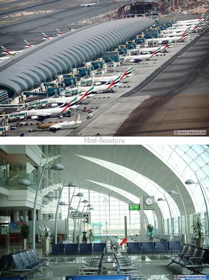 Самые красивые аэропорты в мире: Дубай