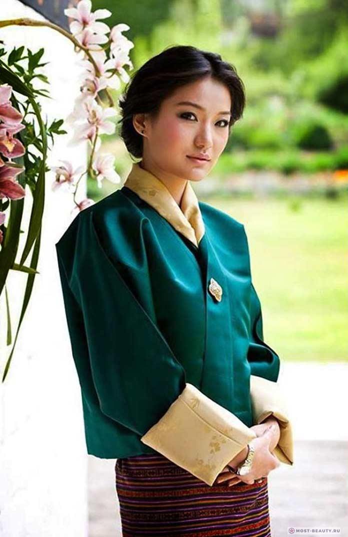 Красивые жёны президентов: Джецун Пема
