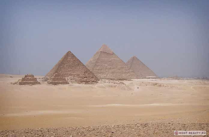 Египетские пирамиды. CC0