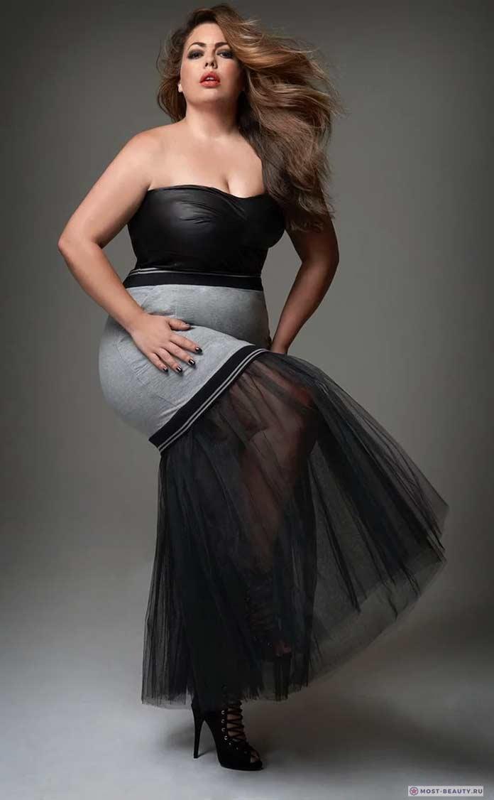 Самые привлеккательные толстушки на фото: Флавия Ласерда